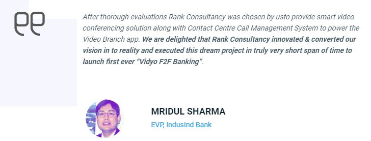 IndusInd Bank EVP